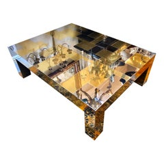 Mixed Metals Coffee Table