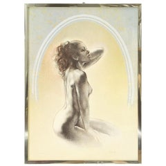 Mixed Technique on Paper, Artist's Proofs by Giampaolo Parini, 1980s