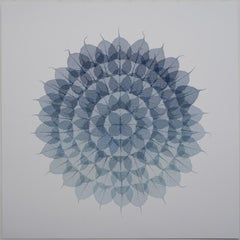 Blue Quadrant Mandala