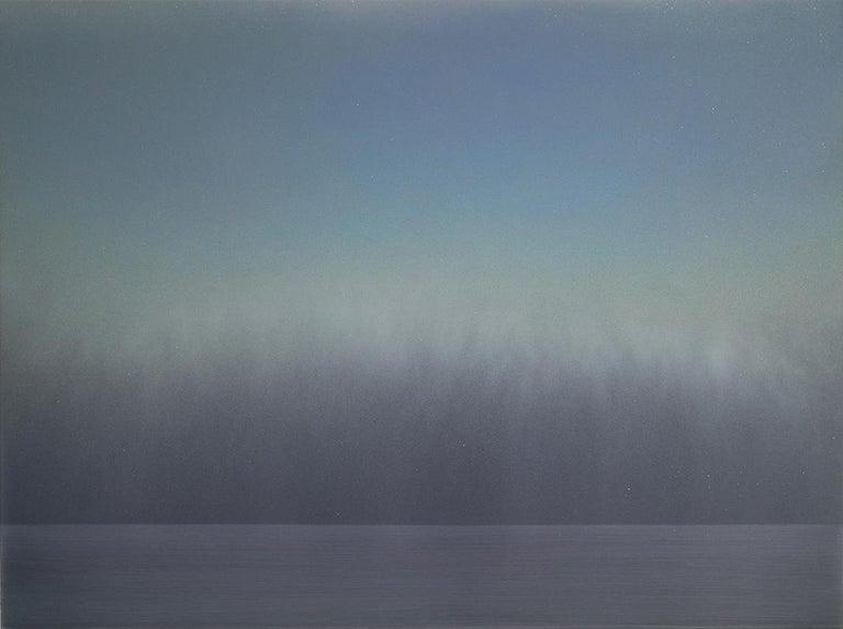 <i>Phenomena Purple Grey Rainbow</i>, 2020, by Miya Ando