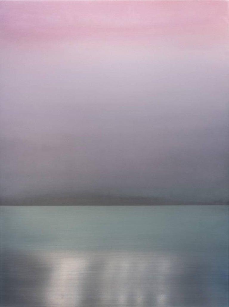 Miya Ando Abstract Painting - Pink 72.54