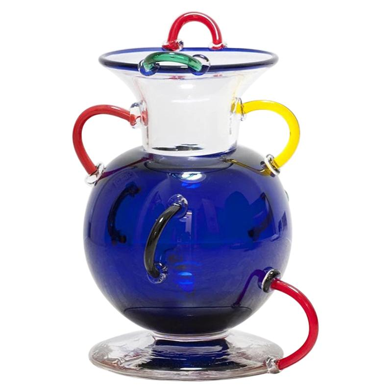 Mizar Glass Vase, by Ettore Sottsass from Memphis Milano