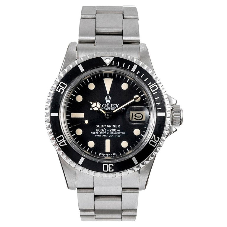 "Pre-Owned ""MK I White"" Rolex Submariner Ref. #1680 For Sale"