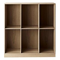 MK98400 Deep Bookcase in Wood by Mogens Koch