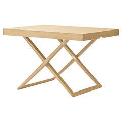 MK98860 Folding Table in Wood by Mogens Koch