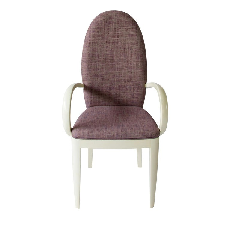 Italian M&M Chair with Armrests For Sale