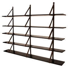 MM Wall Mounted Bookshelf Designed by Miguel Milá for Gres, 1962, Spain