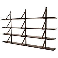 MM Wall-Mounted Bookshelf Designed by Miguel Milá for Gres, 1962, Spain
