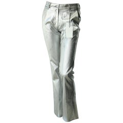 MM6 Maison Margiela  Silver Pants