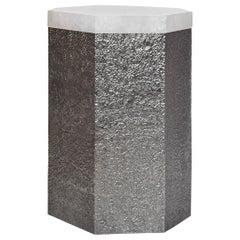 SAN iii Rock Crystal Side Table by Phoenix