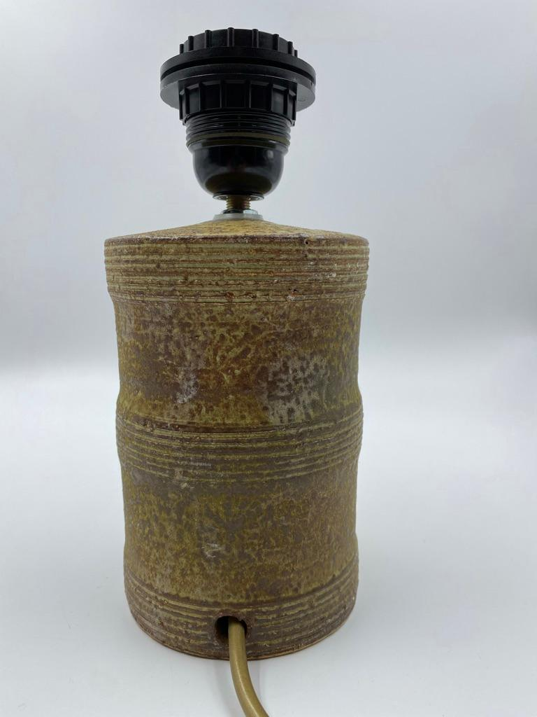 Mobach Utrecht Ceramic Table Lamp Base, 1960s In Good Condition For Sale In Achterveld, NL