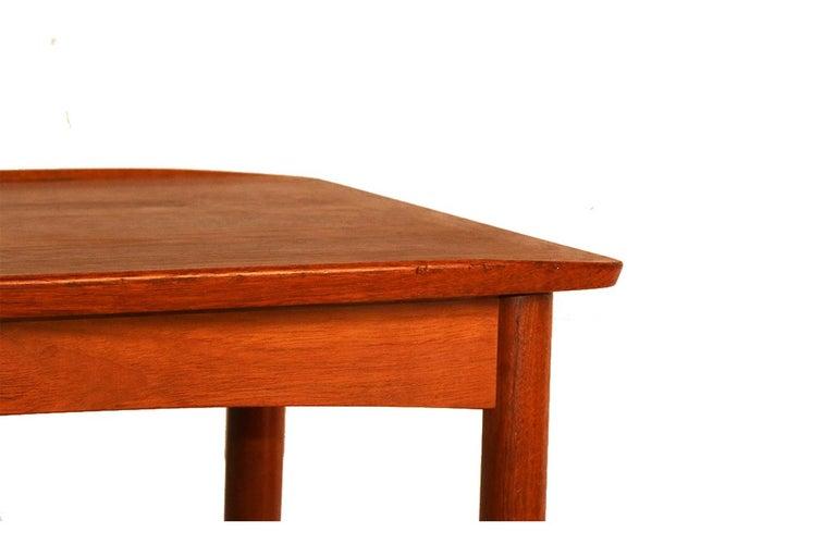 Mobelintarsia Mid Century Danish Teak Side Table 1
