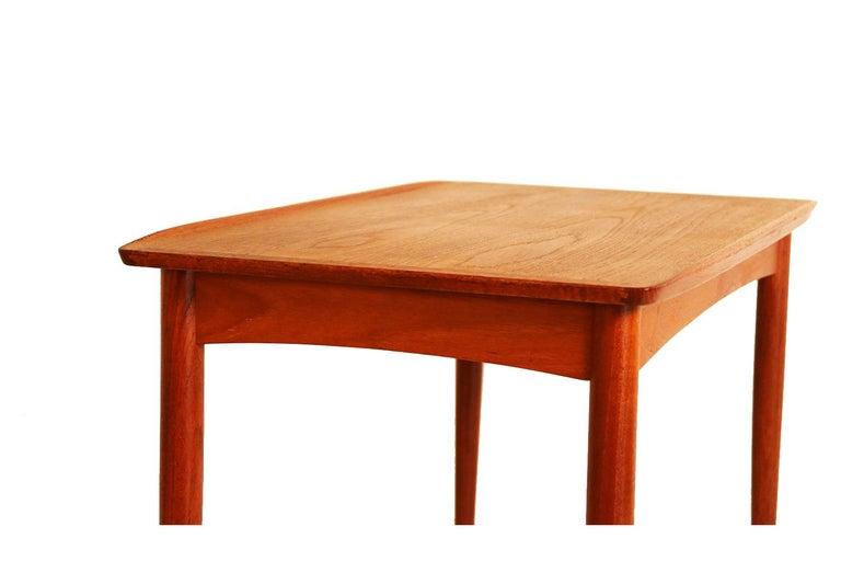 Mobelintarsia Mid Century Danish Teak Side Table 2