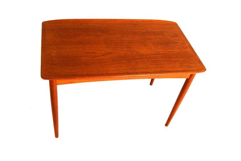 Mobelintarsia Mid Century Danish Teak Side Table 4