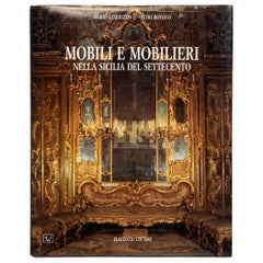 Mobili e Mobilieri Nella Sicilia del Settecento by Mario Giarrizzo, 1st Ed
