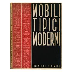 """Mobili Tipici Moderni"" Book of Typical Modern Furniture"