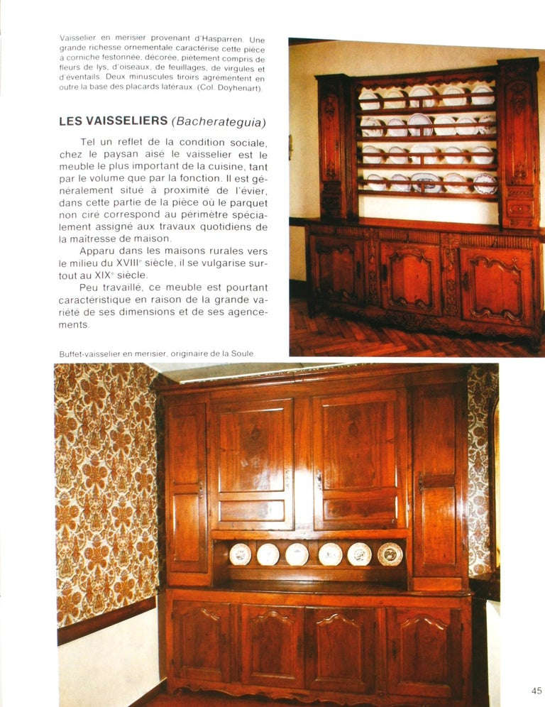 Mobilier Basque by Lucile Oliver, 1st Ed For Sale 11