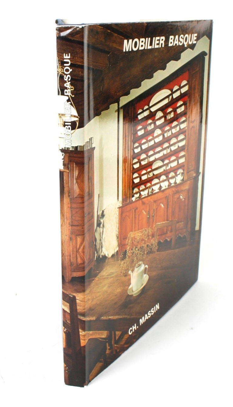 Mobilier Basque by Lucile Oliver. Editions Ch. Massin, Paris. 1st Ed hardcover with dust jacket. French regional furniture of the Basque region. Text in French.