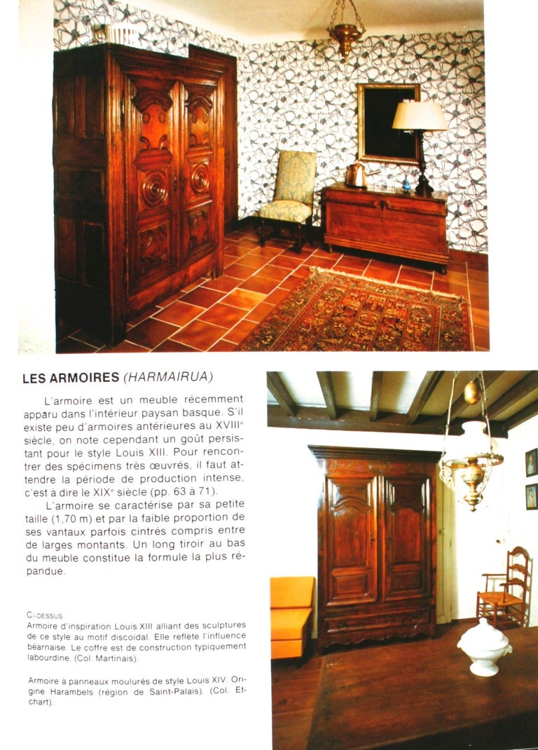 Mobilier Basque by Lucile Oliver, 1st Ed For Sale 14