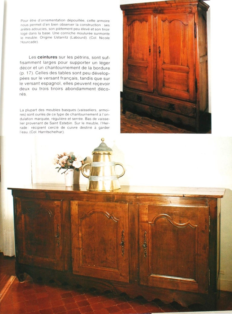 Late 20th Century Mobilier Basque by Lucile Oliver, 1st Ed For Sale