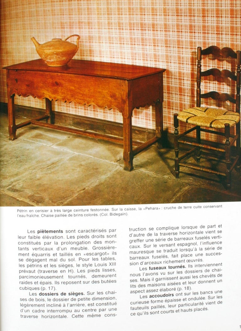 Mobilier Basque by Lucile Oliver, 1st Ed For Sale 1