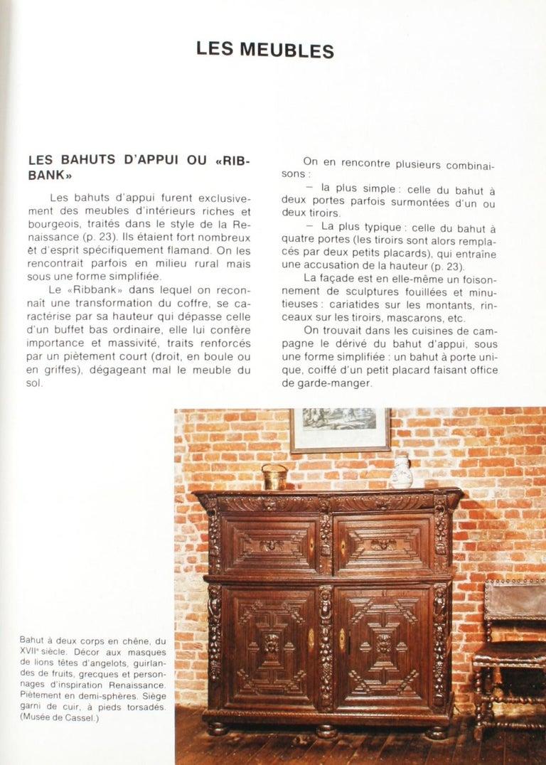 Mobilier Des Provinces Belges et Des Flanders Françaises 1st Ed For Sale 7