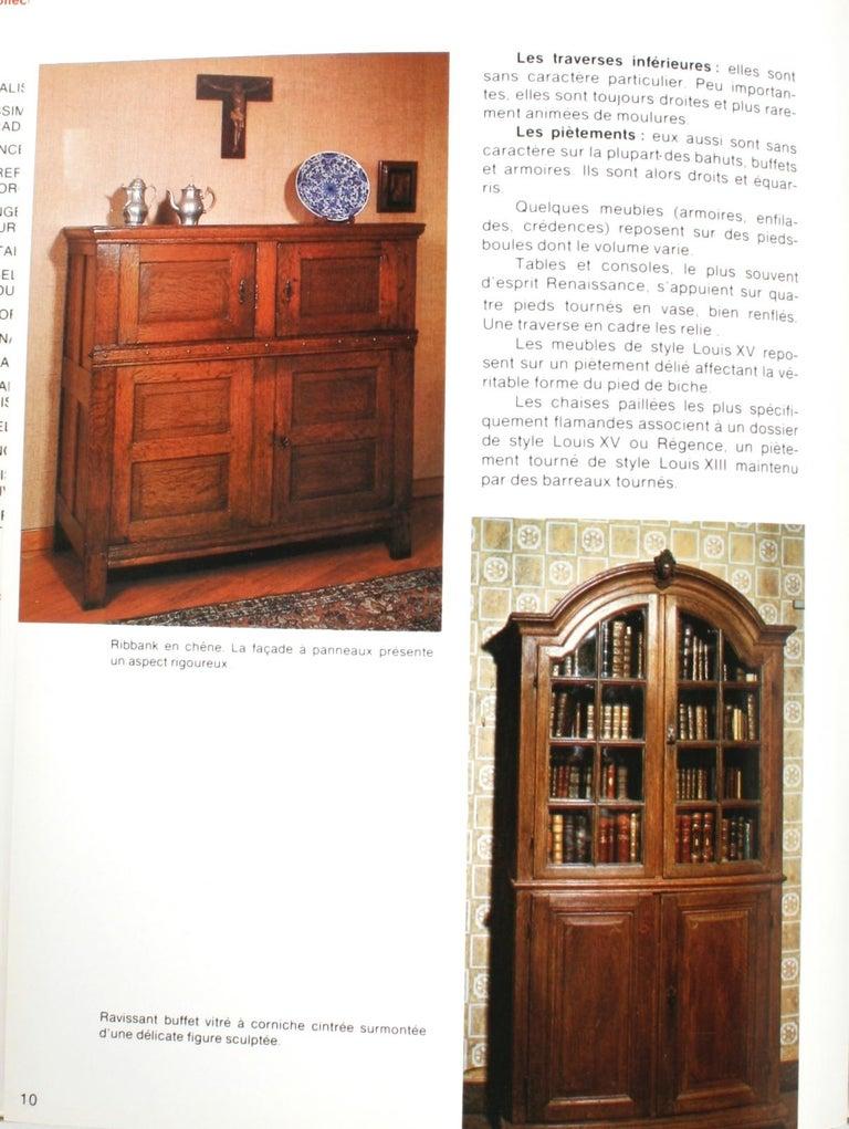Mobilier Des Provinces Belges et Des Flanders Françaises 1st Ed In Good Condition For Sale In valatie, NY