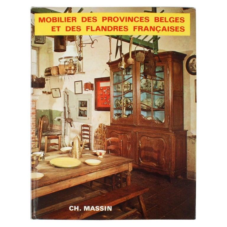 Mobilier Des Provinces Belges et Des Flanders Françaises 1st Ed For Sale