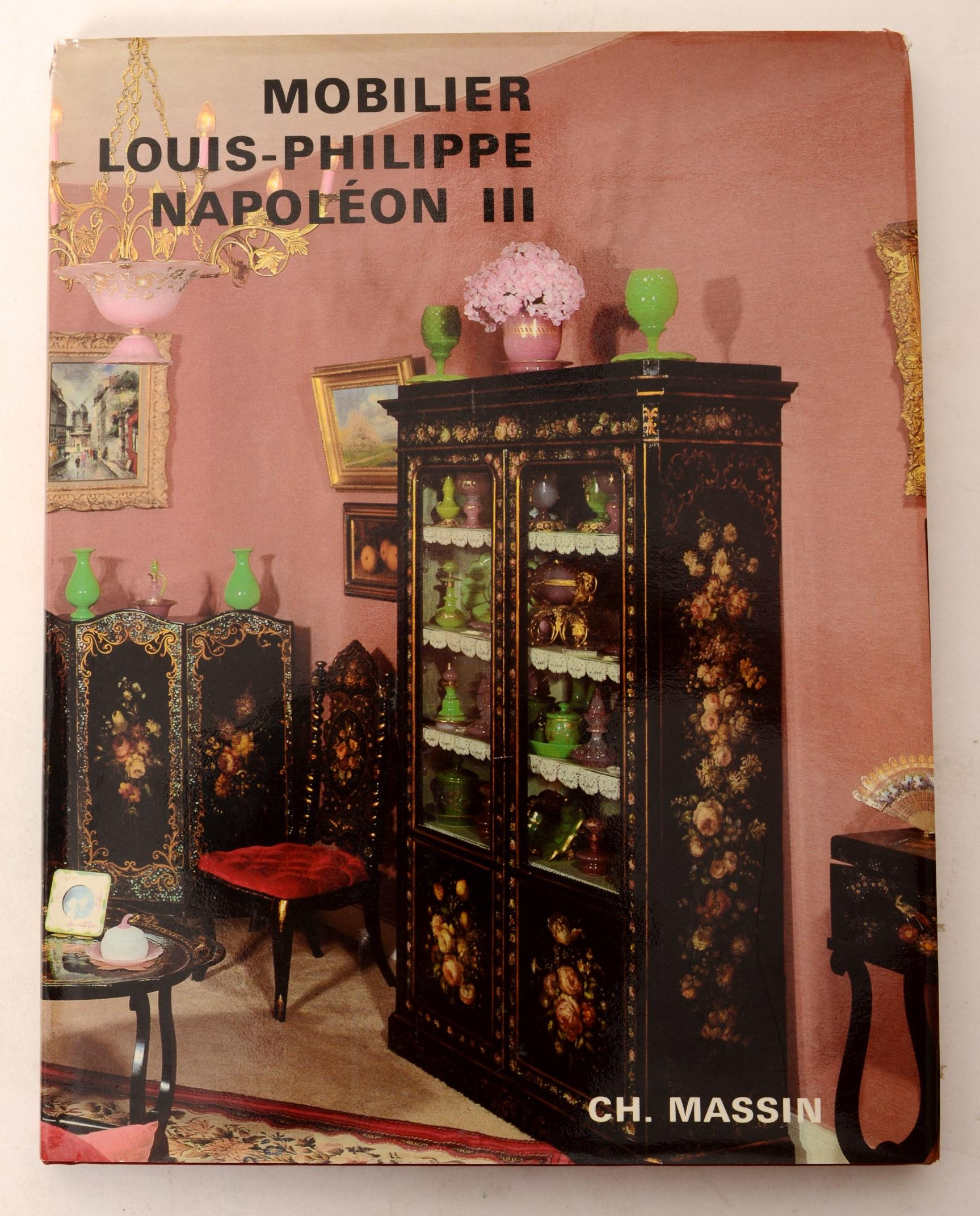 Mobilier Louis-Philippe Napoleon III by Colette Lehmann, First Edition