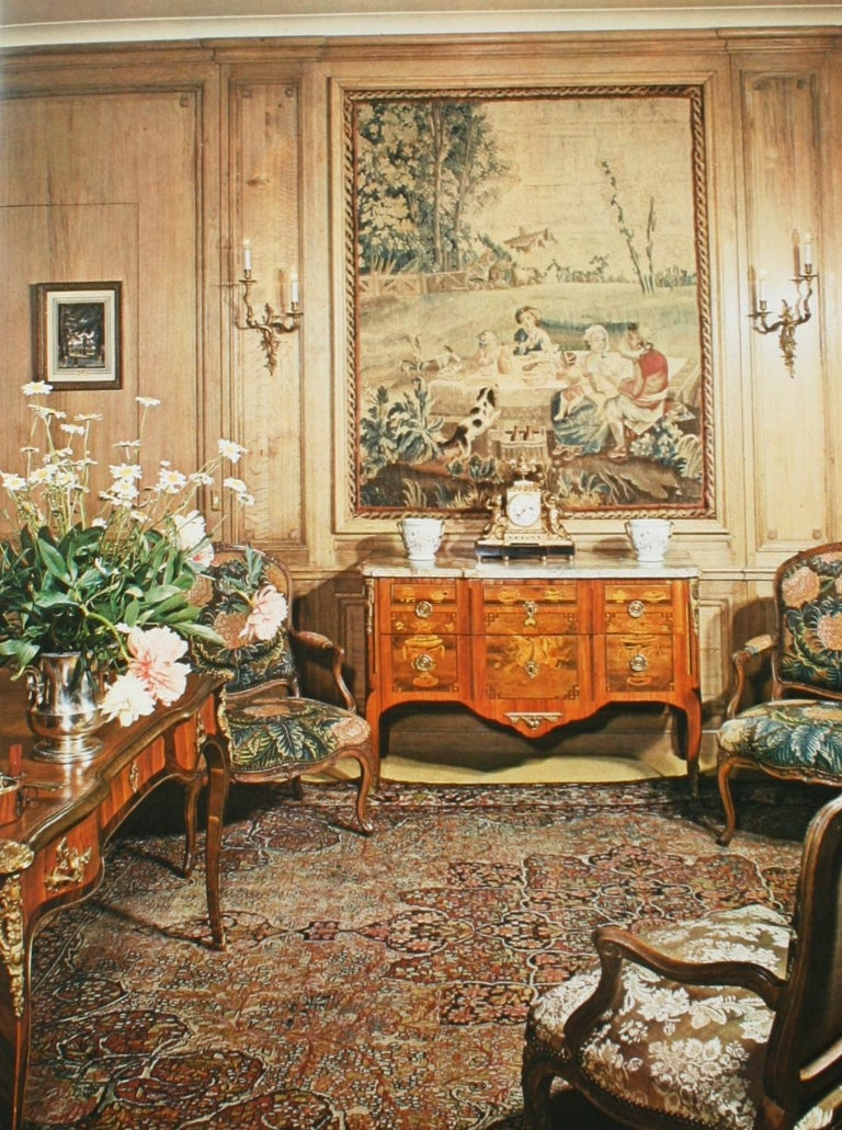 Mobilier Regence, Louis XV by Monica Burckhardt, First Edition For Sale 9