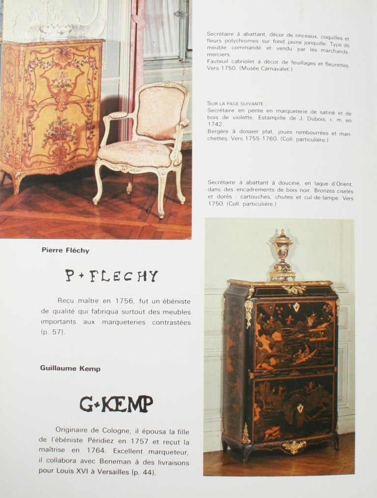 Mobilier Regence, Louis XV by Monica Burckhardt, First Edition For Sale 12