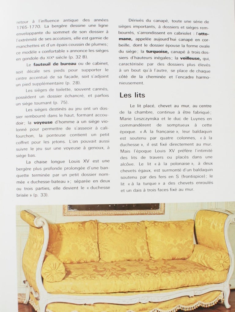 Mobilier Regence, Louis XV by Monica Burckhardt, First Edition For Sale 2