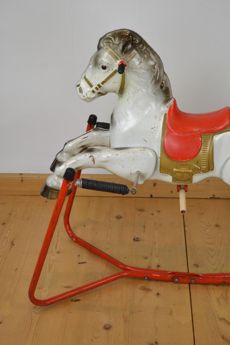 Mobo Prairie King Rocking Horse Toy, England, 1960s For Sale 6