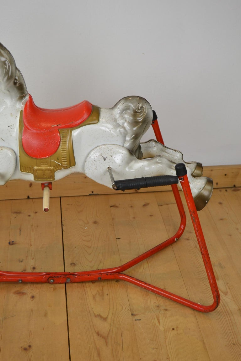 Mobo Prairie King Rocking Horse Toy, England, 1960s For Sale 7