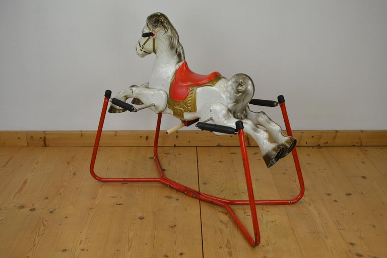 Mobo Prairie King Rocking Horse Toy, England, 1960s For Sale 8