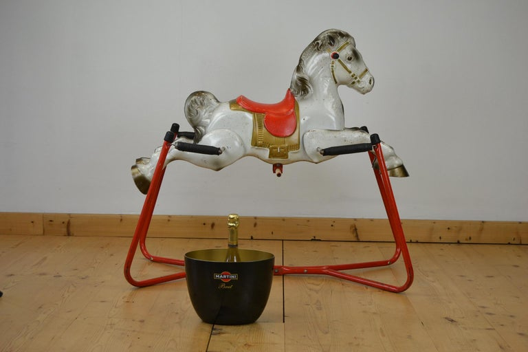 Mobo Prairie King Rocking Horse Toy, England, 1960s For Sale 13