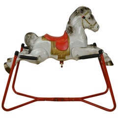 Mobo Prairie King Rocking Horse Toy, England, 1960s