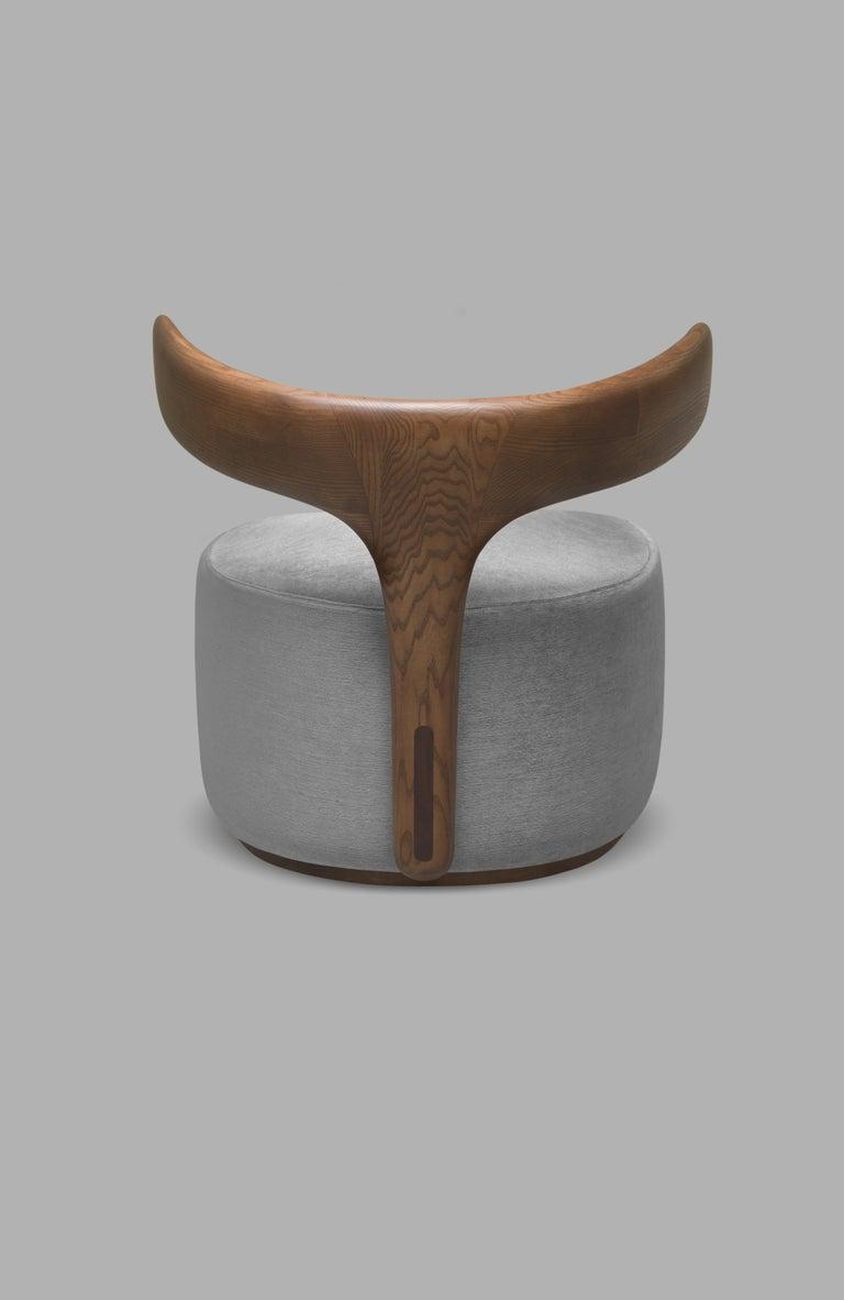 Ash Moby Dick Armchair, Design Libero Rutilo For Sale