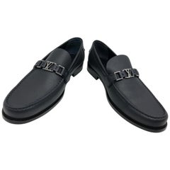 Moccasins Louis vuitton Navu BLeu Leather Shoes