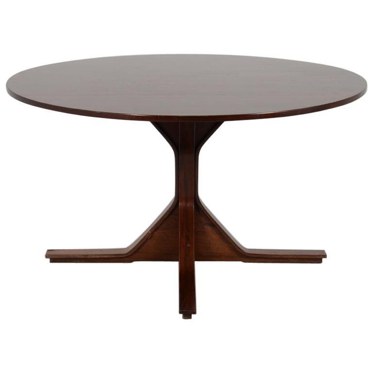 "Mod. 522""  Round Table by Gianfranco Frattini for Bernini, 1960"