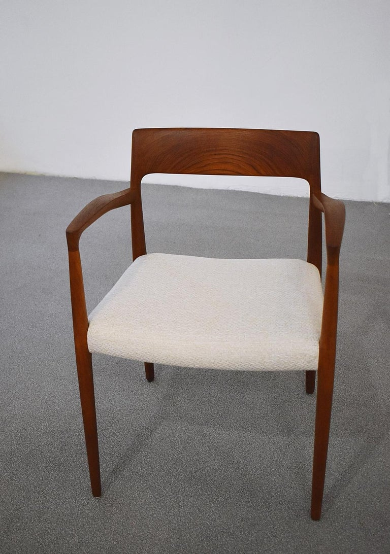 Danish Mod. 57 Armchair by Niels Otto Möller for J. L Mollers, 1960s For Sale