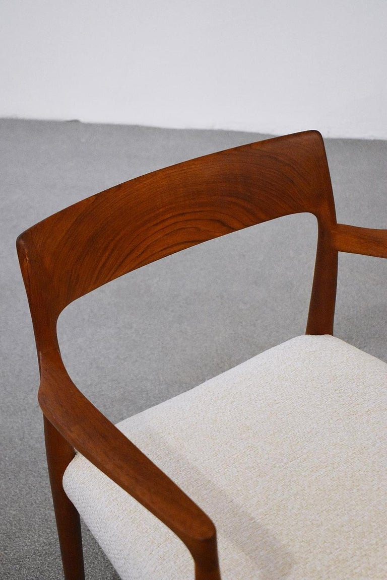 Mod. 57 Armchair by Niels Otto Möller for J. L Mollers, 1960s In Good Condition For Sale In Debrecen-Pallag, HU