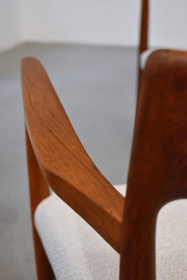 20th Century Mod. 57 Armchair by Niels Otto Möller for J. L Mollers, 1960s For Sale