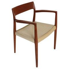 Mod. 57 Teak Sessel von Niels Otto Möller für J. L Mollers, 1960er Jahre