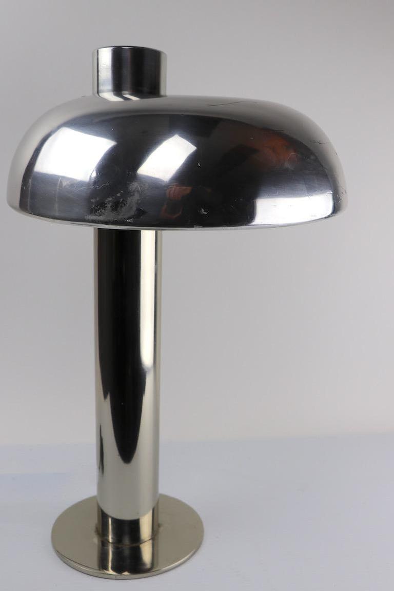 Mid-Century Modern Mod Desk Table Lamp by Laurel For Sale