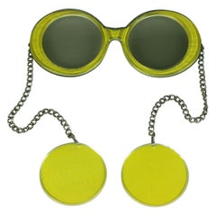 Mod Glasses and Earrings Combo