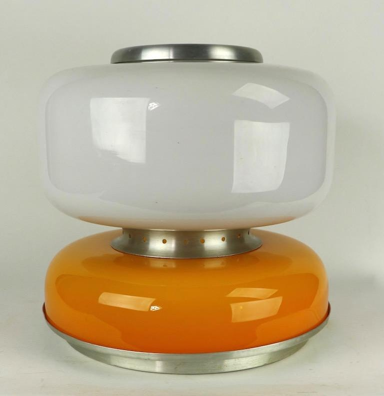 Post-Modern Mod Murano Glass Table Lamp Attributed to Carlo Nason for Mazzega For Sale