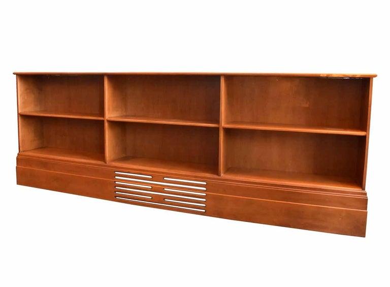 Mod Walnut Bookcase For Sale 1