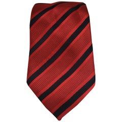 Moda Eteren red blu multicoloured silk tie