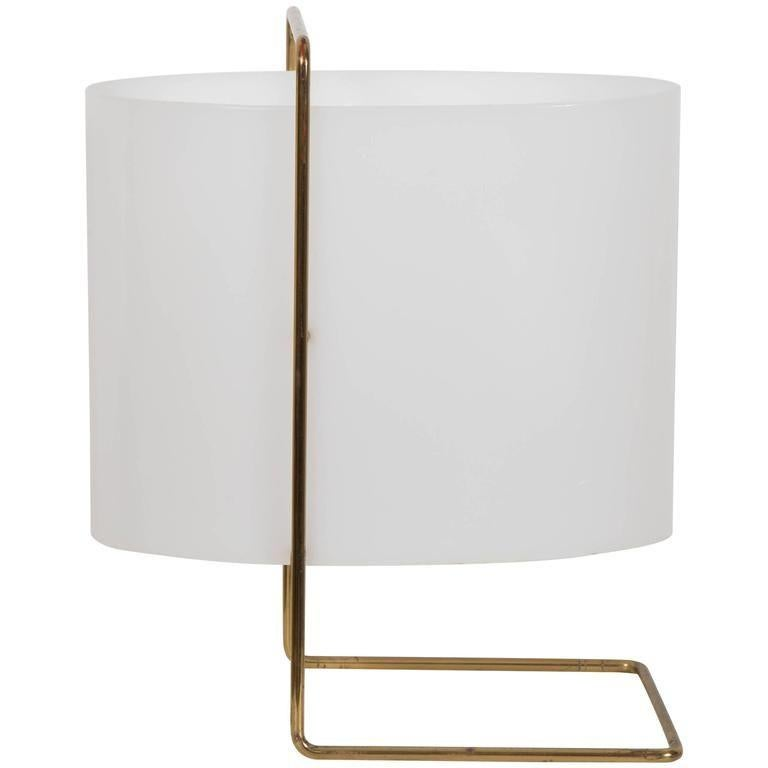French Model 1021 Pair of Table/Bedside Lamps by Roger Fatus for Disderot For Sale